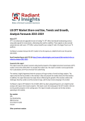 US DTT Market Size Report For 2019 By Radiant Insights, Inc