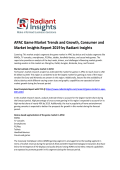 Market Study -APAC Game Market Analysis Report 2019 By Radiant Insights, Inc
