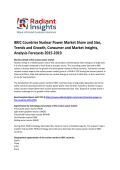 BRIC Countries Nuclear Power Market Growth, Competitive Scenario & Forecasts To 2019: Radiant Insights, Inc