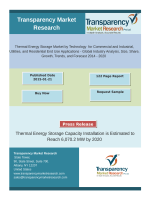 Global Thermal Storage Market Driven by Rising Focus on Introducing Renewable Energy in Traditional Energy Mix