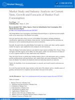 Market Study and Industry Analysis on Current State, Growth and Forecasts of Bunker Fuel Consumption