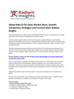 Global Baby & Pet Gates Market Global Trends, Growth, Competitive Strategies and Forecast 2016