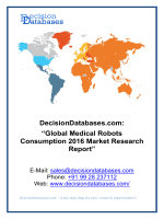 Global Medical Robots Consumption Market Forecasts to 2021