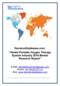 Global Portable Oxygen Therapy System Market 2016-2021