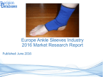 Europe Ankle Sleeves Market 2016-2021