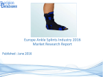 Europe Ankle Splints Market Manufactures and Key Statistics Analysis 2016