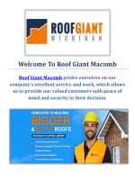 Roof Giant | Roofers in Macomb