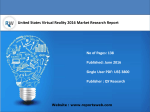 United States Virtual Reality Industry Sales and Revenue Forecast 2021