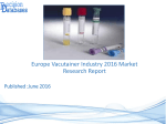 Europe Vacutainer Market 2016-2021