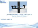 United States ANPR Camera Market 2016:Industry Trends and Analysis