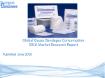 Global Gauze Bandages Consumption Market 2016:Industry Trends and Analysis