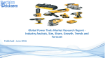 Power Tools Market - Global Industry Size, Share, Growth and Forecast