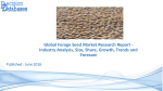 WorldWide Forage Seed Market Share, Growth, Segmentation's and Forecasts
