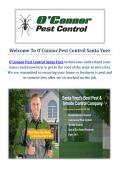 O'Connor Pest Control Service in Santa Ynez, CA