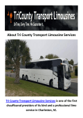 Tri County Transport Party Bus Services in Charleston