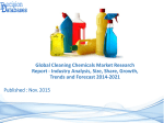 Global Cleaning Chemicals Market Research Report 2014 to 2021