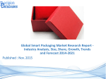 Focus On Smart Packaging Market Research Report 2014 to 2021