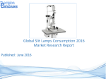 Global Slit Lamps Consumption Market 2016-2021