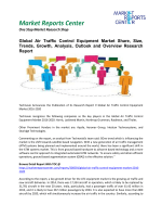 Air Traffic Control Equipment Market Analysis, Outlook and Professional Survey Report 2016