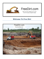 Fill Dirt For Sale : Free Dirt