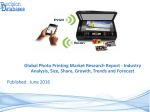 Photo Printing Market Size, Shares, Growth, Segmentation's and Forecasts,2022