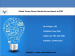 Global Torque Sensor Industry Report Emerging Trends and Forecast 2021