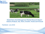 Focus On Dairy Herd Management Market and Industry Development Research Report