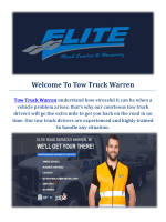 Tow Truck Warren | Towing Service in Warren, MI