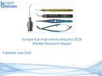 Europe Eye Instrument Market Manufactures and Key Statistics Analysis 2016