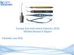 Europe Eye Instrument Market Manufactures and Key Statistics Analysis 2016