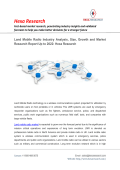 Land Mobile Radio Market Analysis and Segment Forecasts 2015 To 2022: Hexa Research