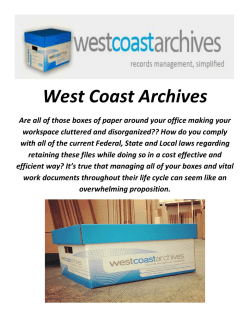 West Coast Archives : Paper Shredding Company In Los Angeles