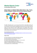 Digital and Mobile Media Market Insights, Trends, Growth, Analysis and Forecasts, 2016-2020