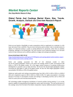 Paints And Coatings Market Growth,Size, Share and Forecasts, 2016-2020