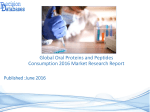 Global Oral Proteins and Peptides Market 2016-2021