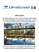 Ultra Patio Screen Enclosures In Tampa, Florida