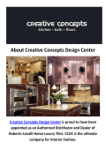 Creative Concepts Design Center | Kitchen And Bath Remodeling in Fairfax, VA