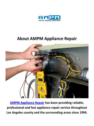 AMPM Air Conditioning Repair in Woodland Hills