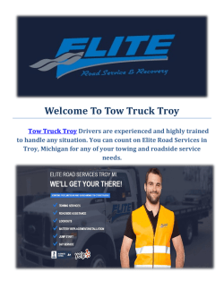 Tow Truck Troy : Towing Service in Troy