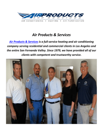 Air Products & Services : AC Repair In Van Nuys, CA