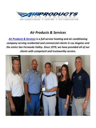 Air Products & Services : AC Repair In Van Nuys, CA