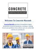 Concrete Contractor in Macomb