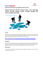 Global Electronic Warfare Market Analysis, Strategic Insights and Overview 2015-2025: Hexa Reports