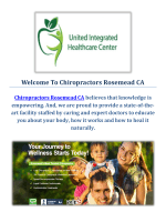 Chiropractors in Rosemead, California