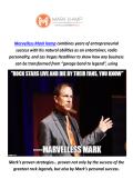 Marvelless Mark Kamp : Keynote Speaker In Boston