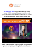 Marvelless Mark Kamp : Keynote Speaker In Dallas