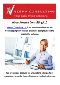 Neema Consulting LLC - Bookkeeping in NYC