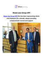 Rawa Law Group APC : Work Injury Lawyer In Orange County