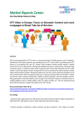 Europe OTT Video Market size, Share, Trends, Price, Analysis and Forecast