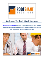 Roof Giant Roofing Contractors in Macomb, MI
